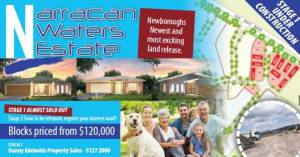Narracan Waters Estate land for sale Moe VIC 3825