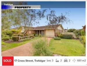 Real estate appraisal Trafalgar VIC 3824