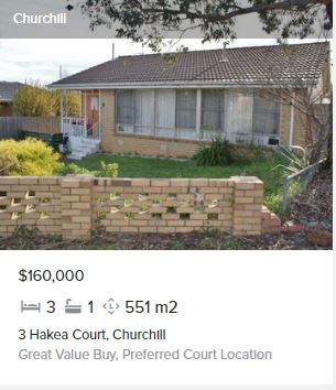 Real estate appraisal Churchill VIC 3842