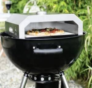 Firebox pizza oven