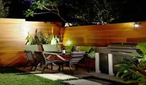 Perfect backyard entertaining area